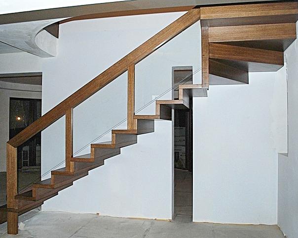 04 schody drewniane NOWOCZESNE