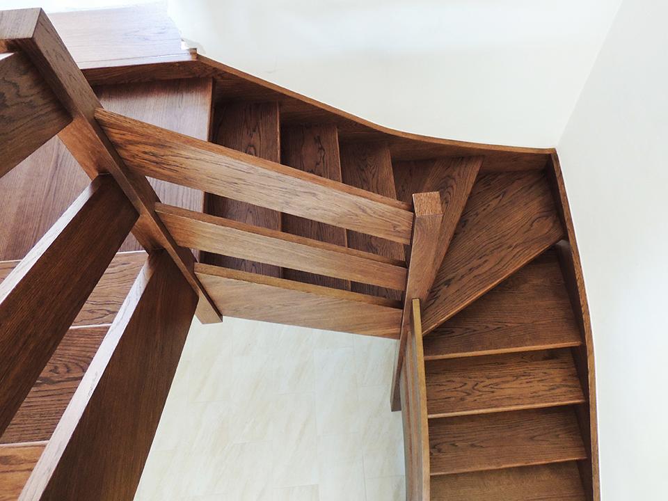 04 schody drewniane WOLNOSTOJĄCE