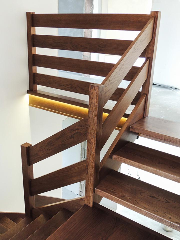 05 schody drewniane WOLNOSTOJĄCE