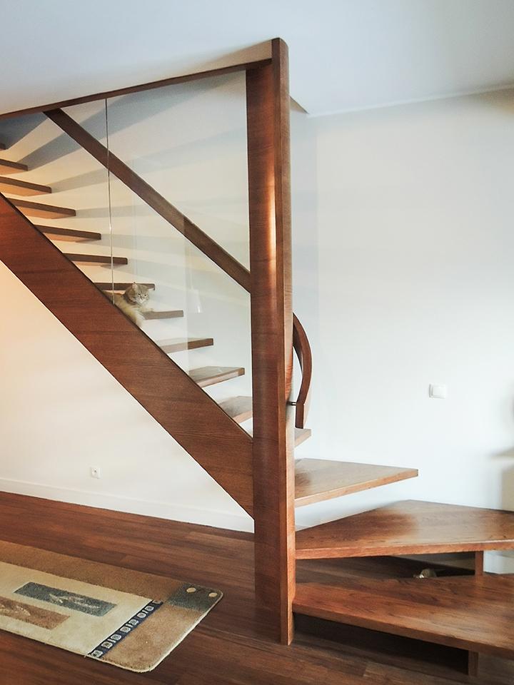 06 schody drewniane NOWOCZESNE