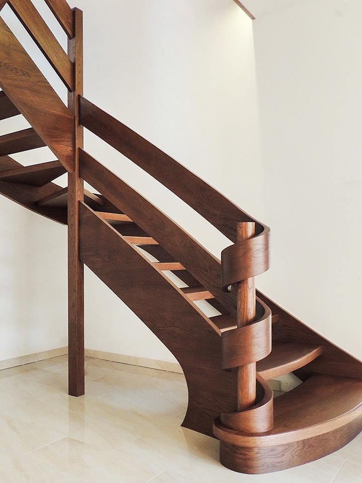 06 schody drewniane WOLNOSTOJĄCE