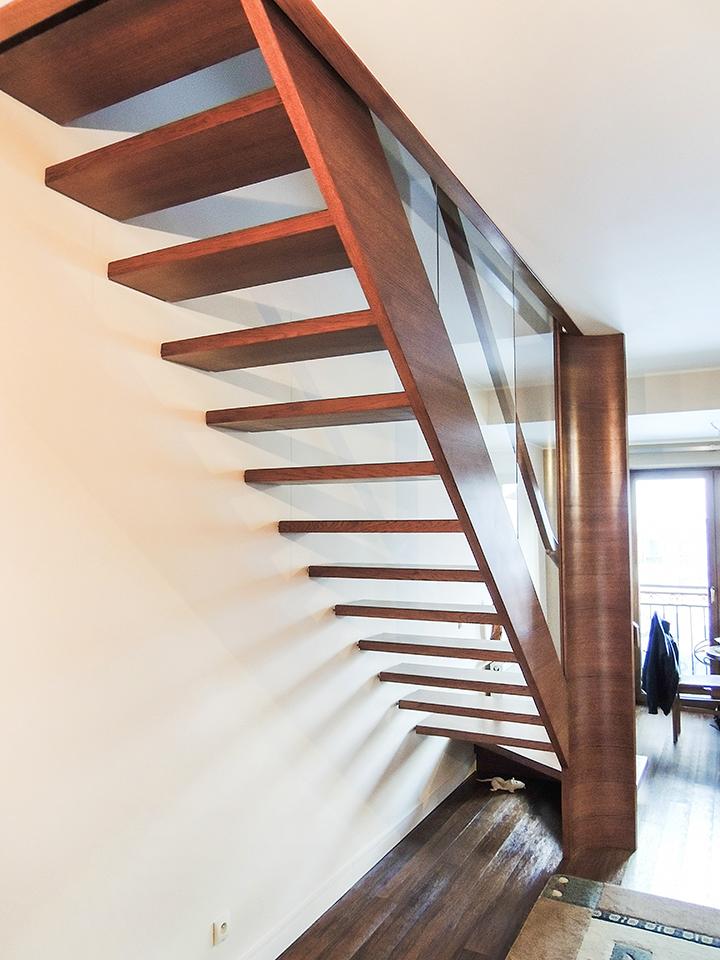 07 schody drewniane NOWOCZESNE