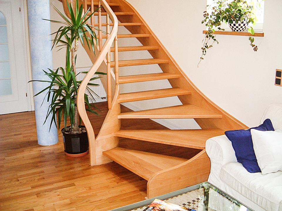 07 schody drewniane WOLNOSTOJĄCE