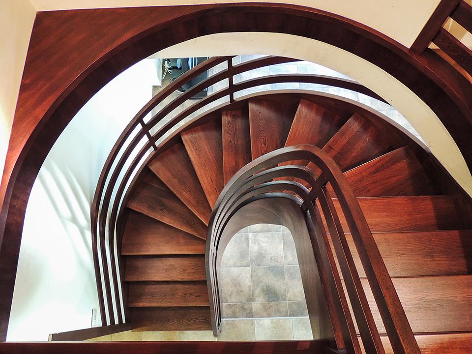 08 schody drewniane NA BETON