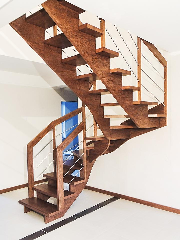 09 schody drewniane WOLNOSTOJĄCE