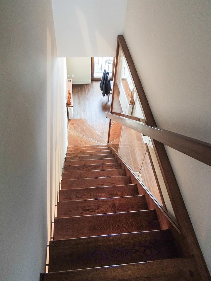 10 schody drewniane NOWOCZESNE