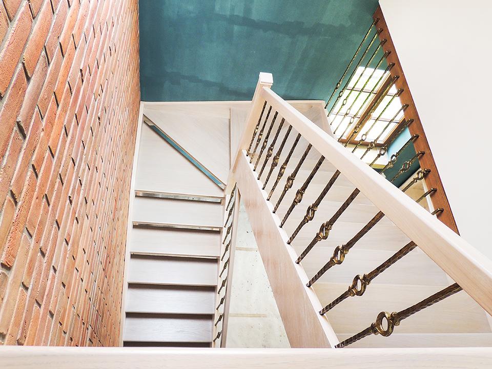 11 schody drewniane WOLNOSTOJĄCE