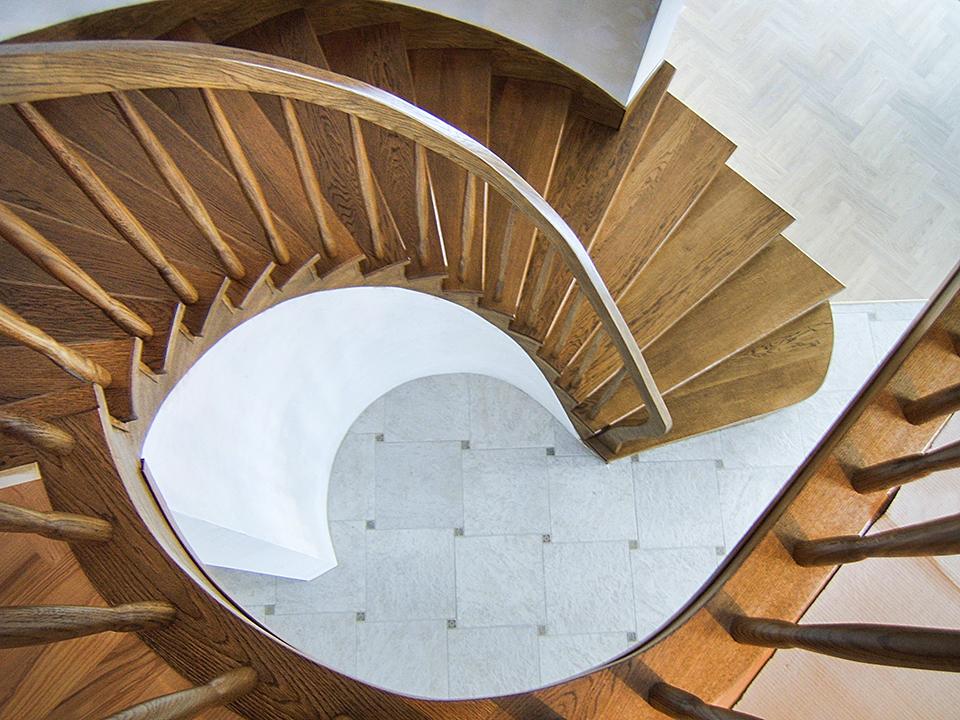 13 schody drewniane NA BETON
