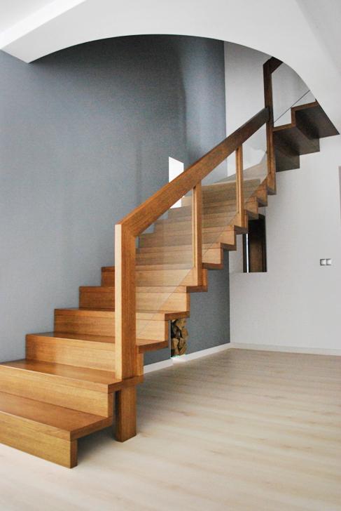 16 schody drewniane NOWOCZESNE