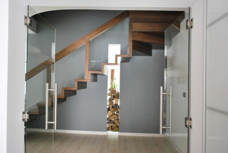 18 schody drewniane NOWOCZESNE