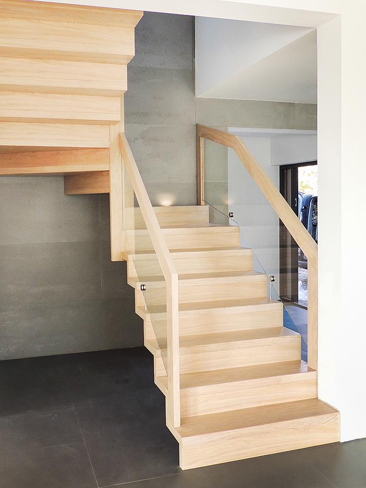 19 schody drewniane NOWOCZESNE