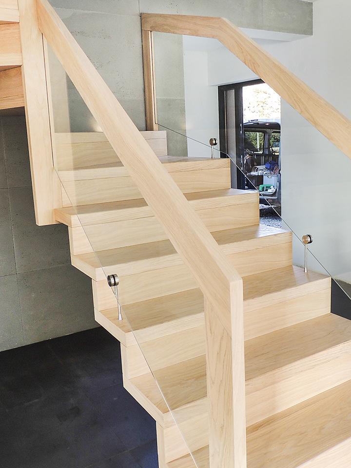 20 schody drewniane NOWOCZESNE
