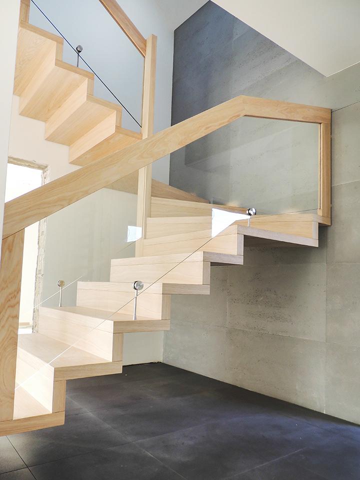 21 schody drewniane NOWOCZESNE