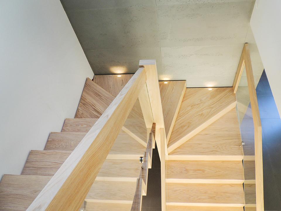 22 schody drewniane NOWOCZESNE
