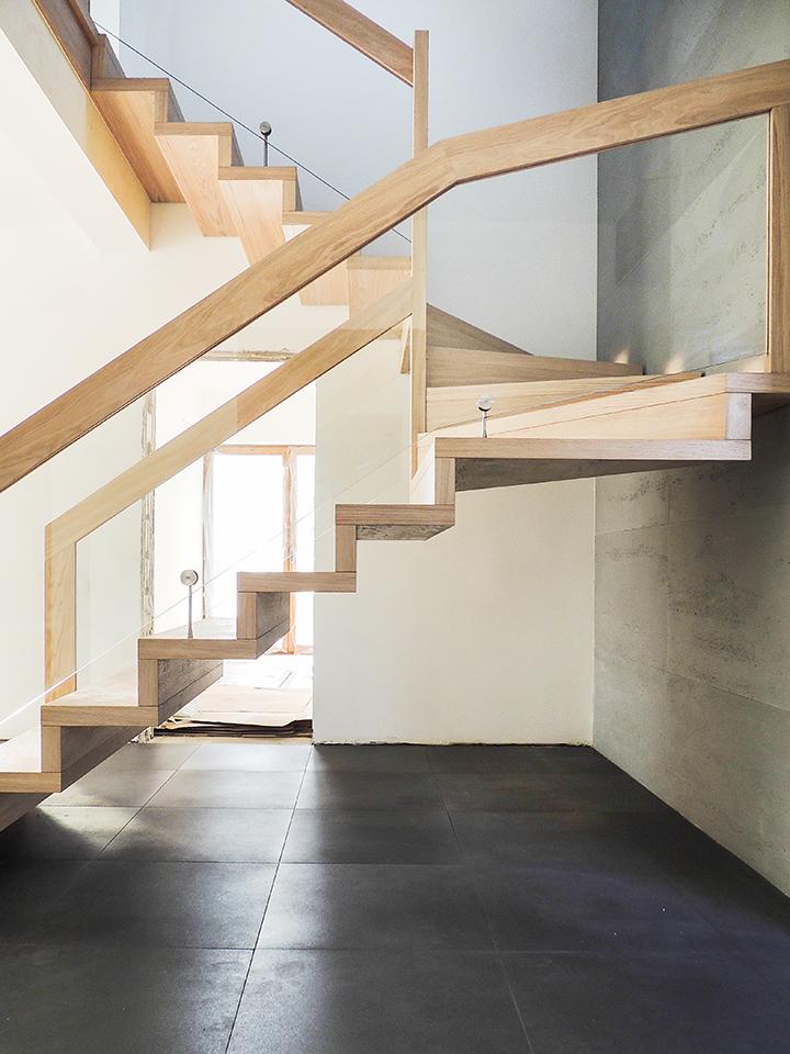 23 schody drewniane NOWOCZESNE