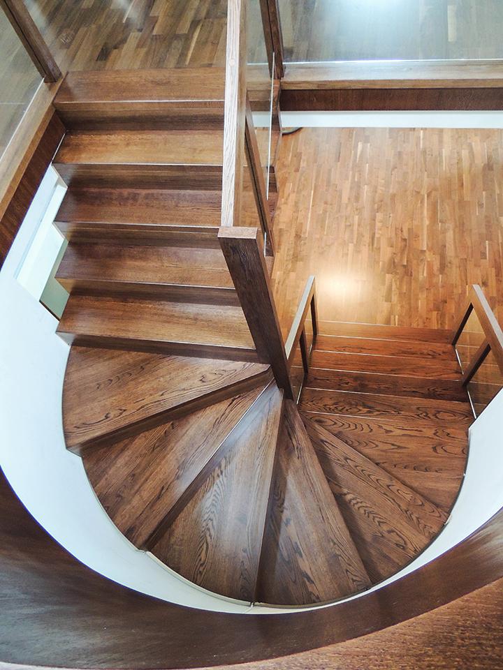 25 schody drewniane NOWOCZESNE