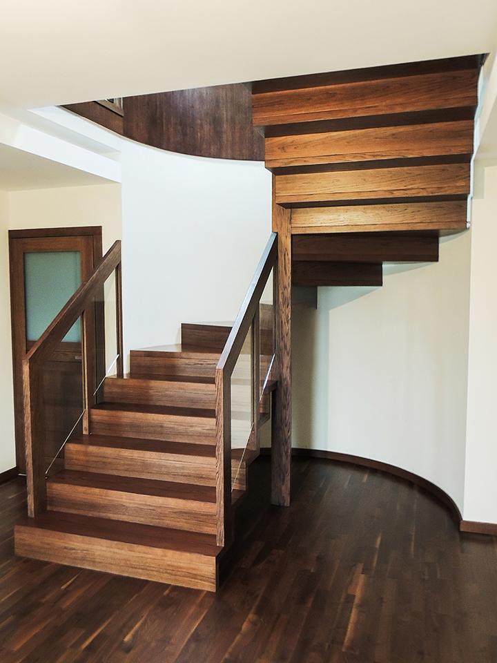28 schody drewniane NOWOCZESNE