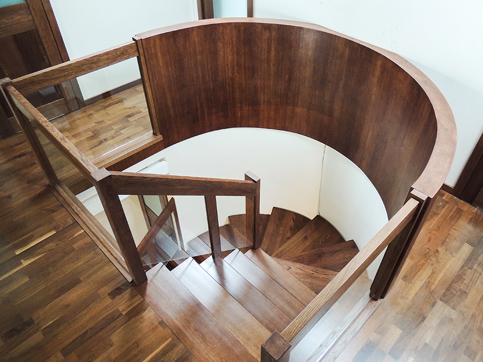 29 schody drewniane NOWOCZESNE