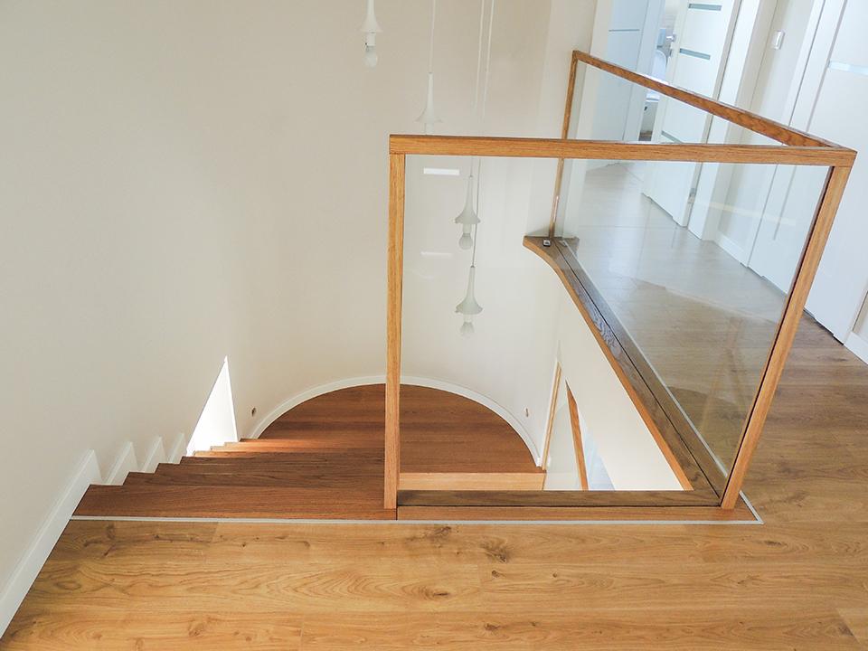 30 schody drewniane NOWOCZESNE