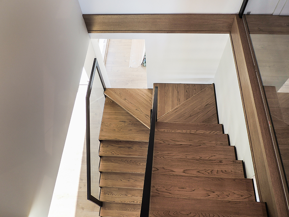 41 schody drewniane NOWOCZESNE