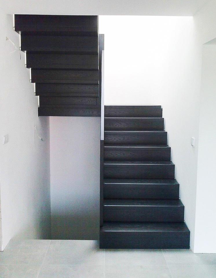 03N schody drewniane NOWOCZESNE