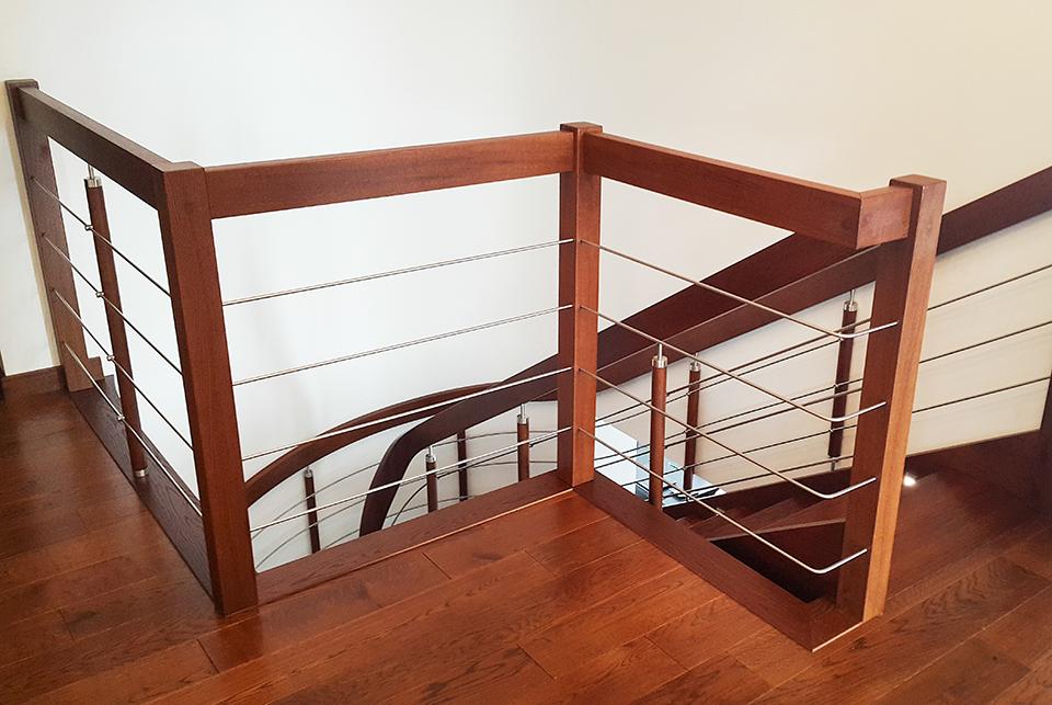 59 schody drewniane GIĘTE SCHODUS