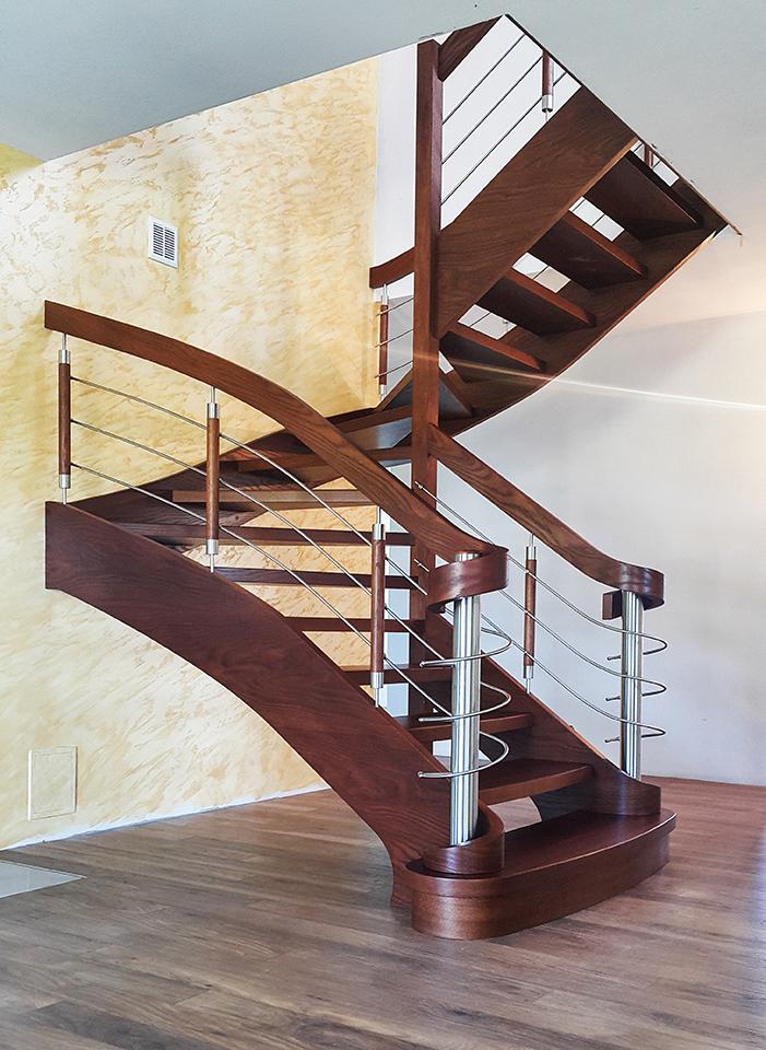 27 schody drewniane WOLNOSTOJĄCE