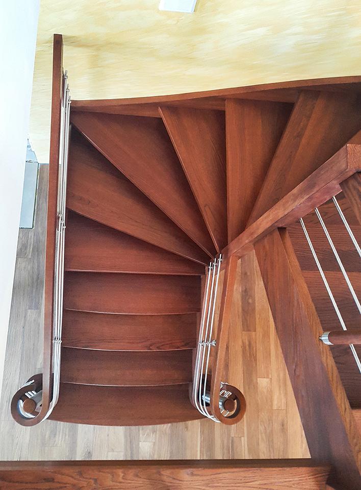 28 schody drewniane WOLNOSTOJĄCE