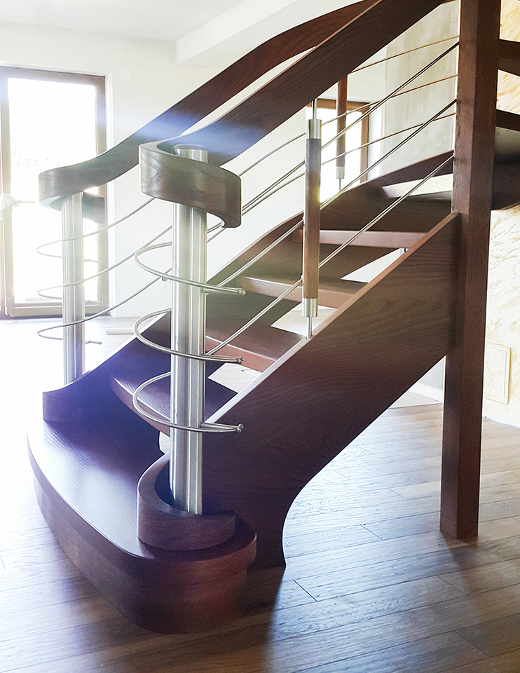 26 schody drewniane WOLNOSTOJĄCE
