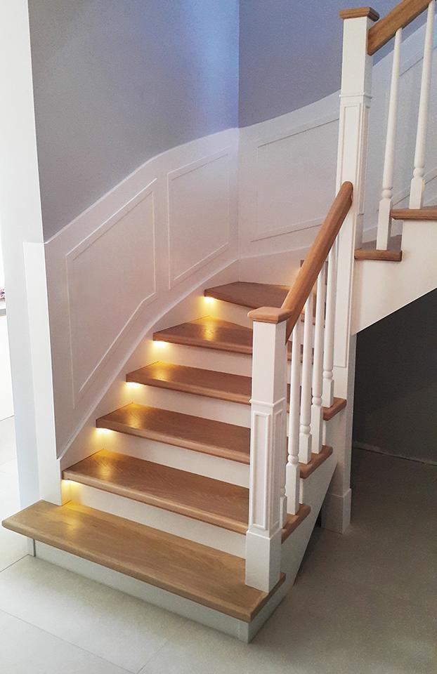 38 schody drewniane WOLNOSTOJĄCE