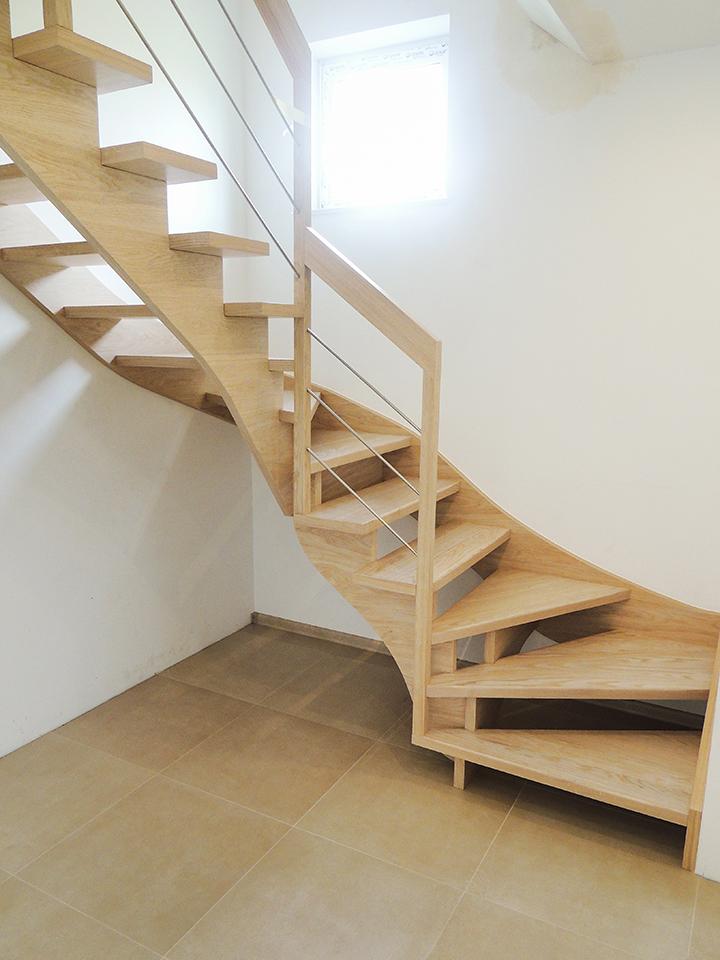23 schody drewniane WOLNOSTOJĄCE