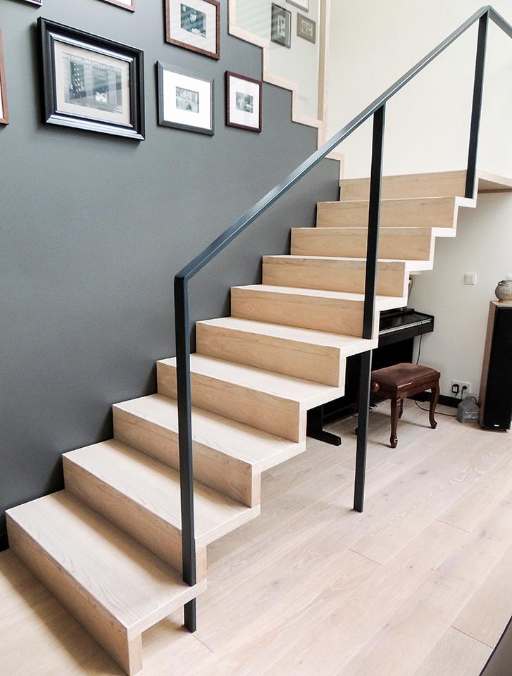29N schody drewniane NOWOCZESNE