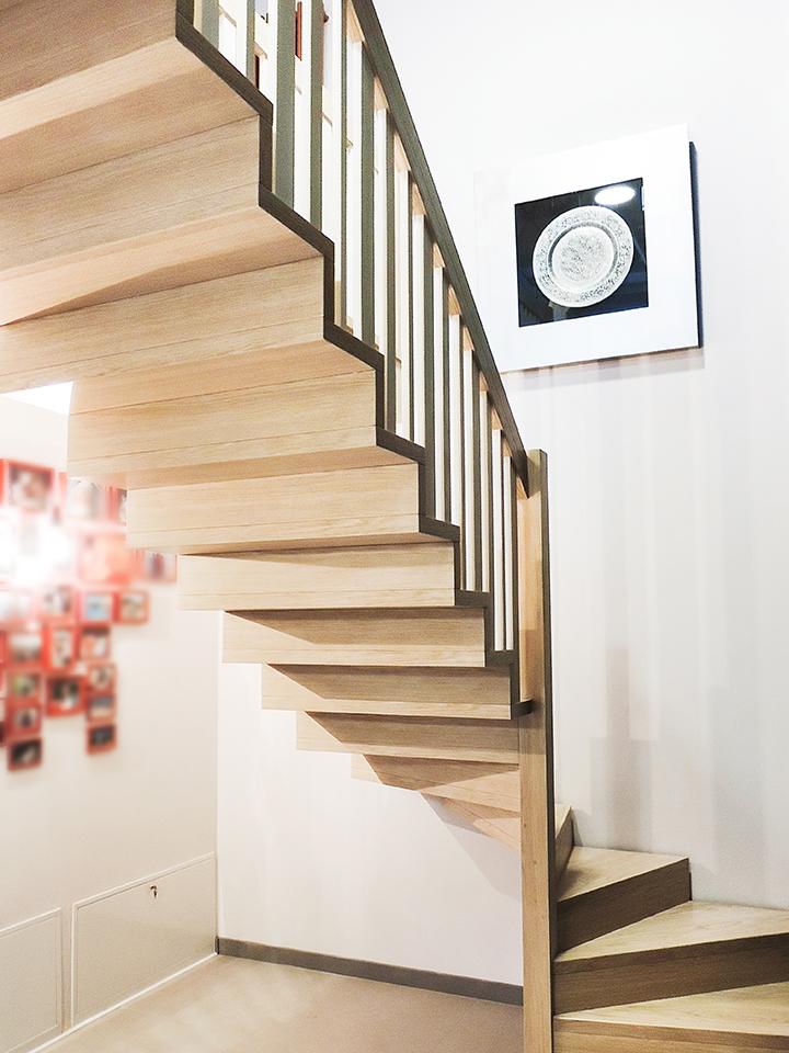 30A schody drewniane NOWOCZESNE