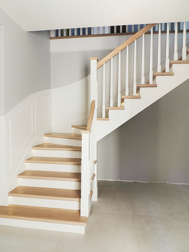 39 schody drewniane WOLNOSTOJĄCE