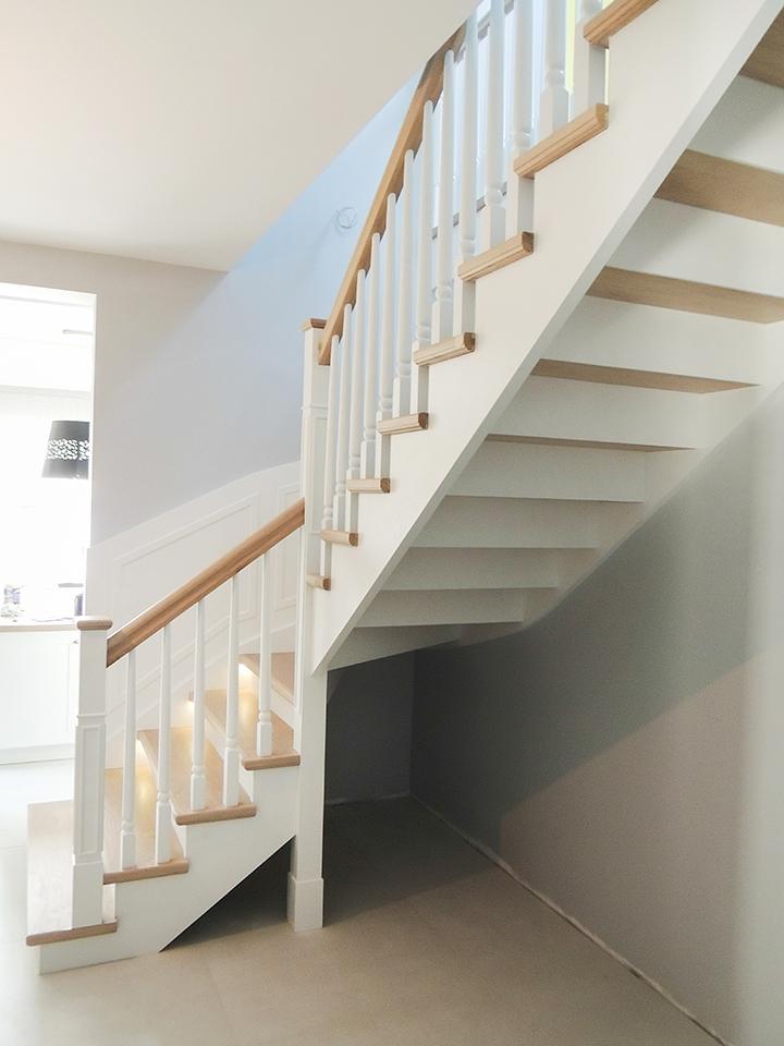 34 schody drewniane WOLNOSTOJĄCE