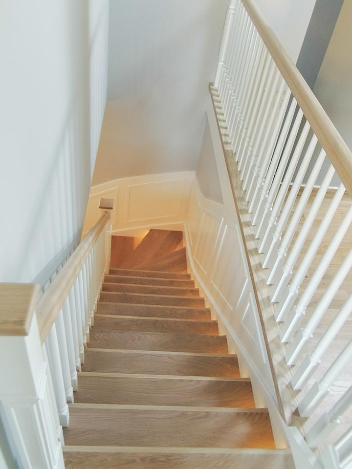 35 schody drewniane WOLNOSTOJĄCE