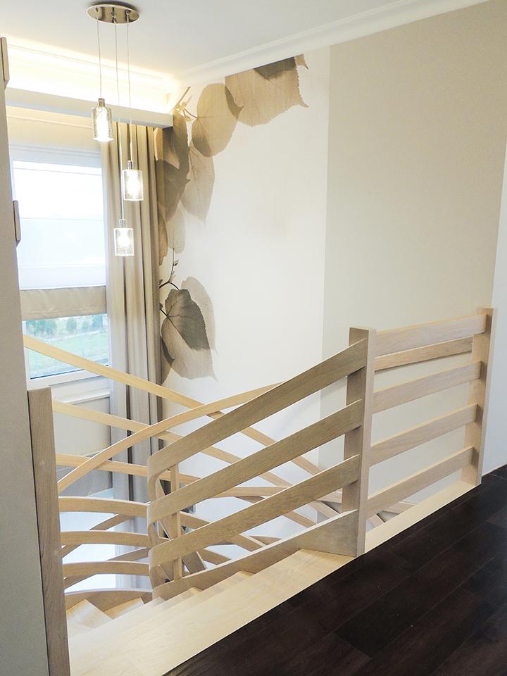 61 schody drewniane GIĘTE SCHODUS
