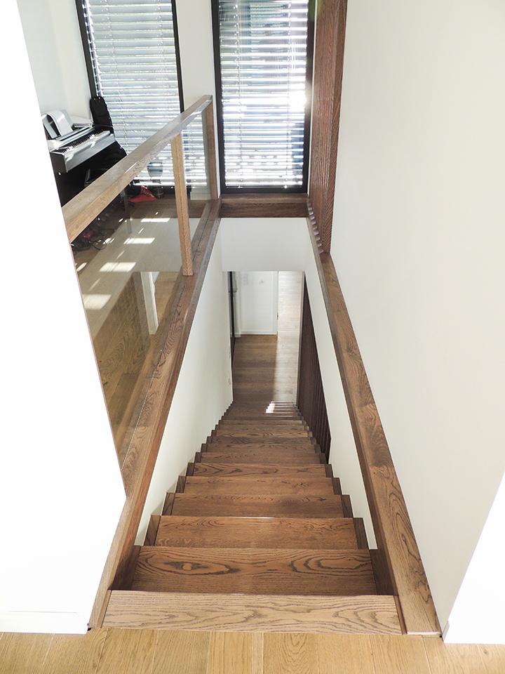 43 schody drewniane WOLNOSTOJĄCE
