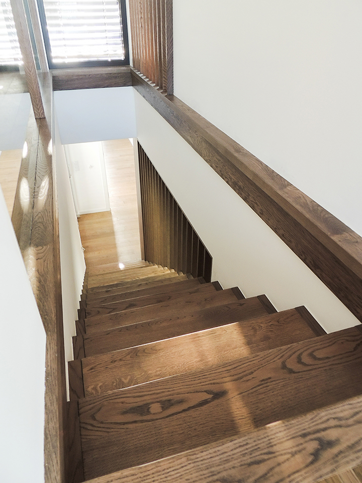 46 schody drewniane WOLNOSTOJĄCE
