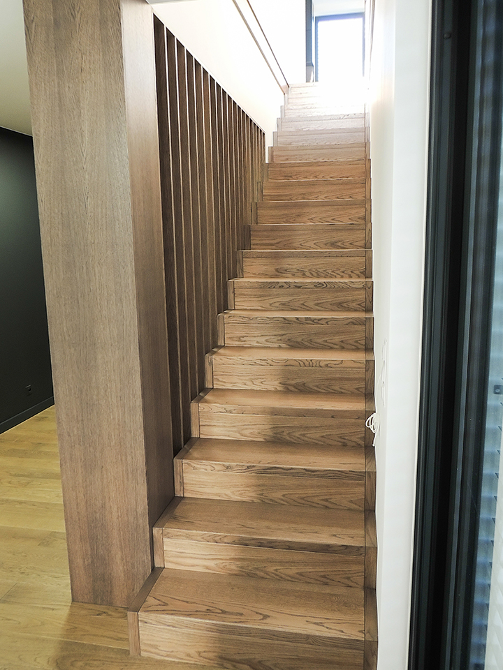 45 schody drewniane WOLNOSTOJĄCE