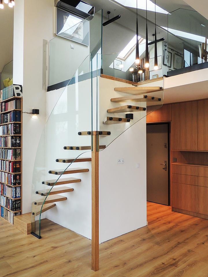 37 schody drewniane nowoczesne