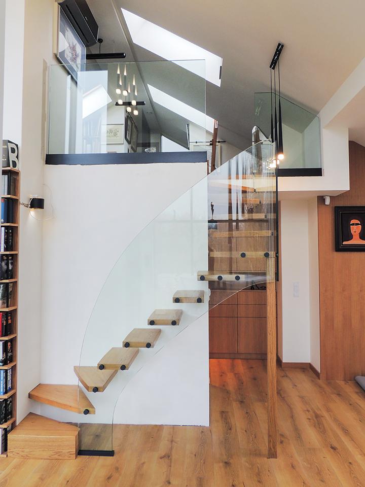 39 schody drewniane nowoczesne