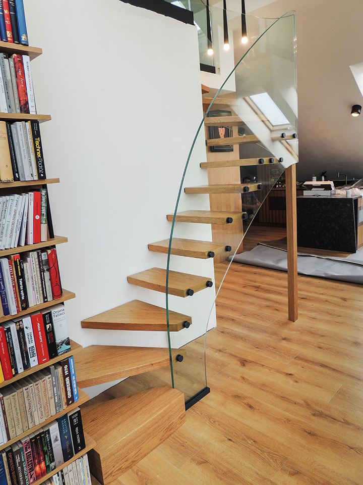 35 schody drewniane nowoczesne