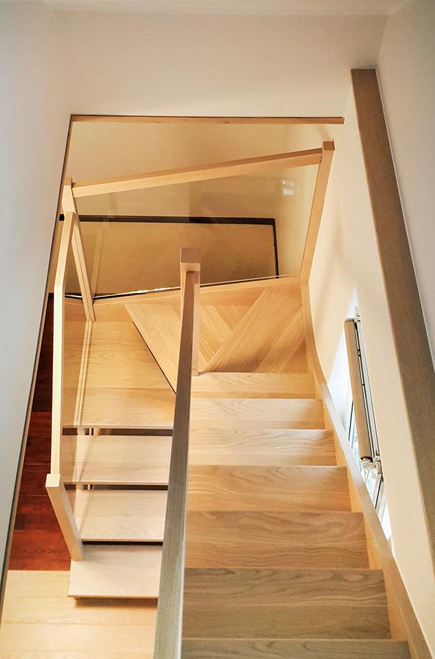 19 schody drewniane WOLNOSTOJĄCE