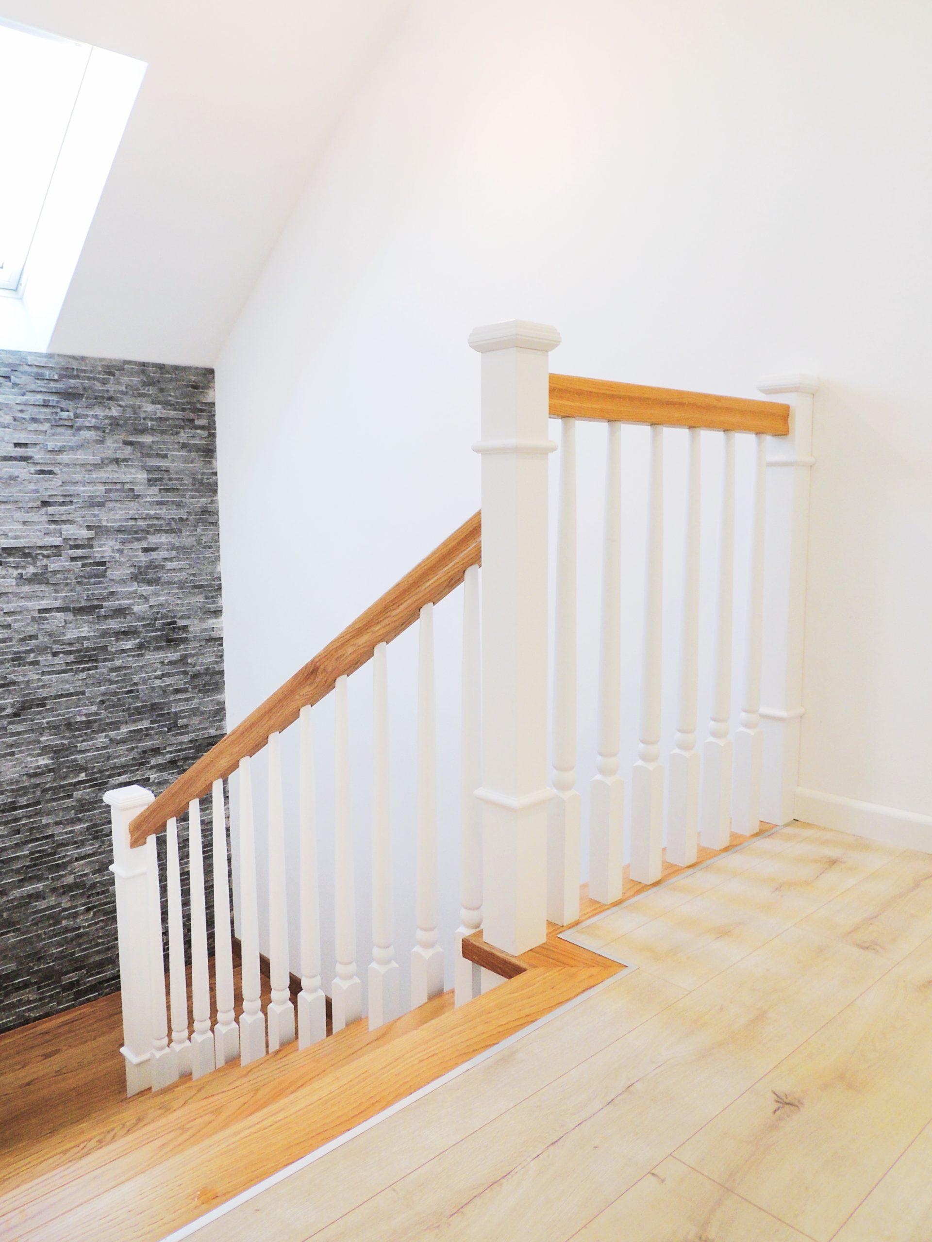 23 schody drewniane NA BETON